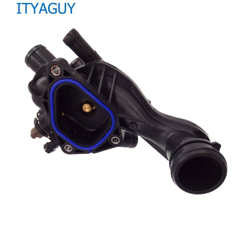 Engine Coolant Thermostat W/ Housing For BMW Citroen C4 Mini Cooper Peugeot 207 308 3008 5008 11537534521 1336.Z6