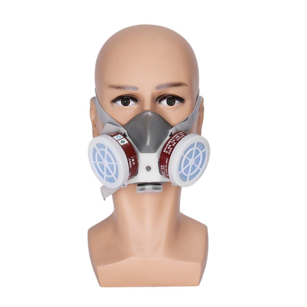 NEUE Safurance Atemschutzmaske Gasmaske Sicherheit Chemical Staubfilter Military Arbeitssicherheit Schutz Anti Staub
