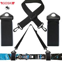 IGOSKI Ski y doble cross country Nordic skiing snowboard alpine snow board soporte desmontable