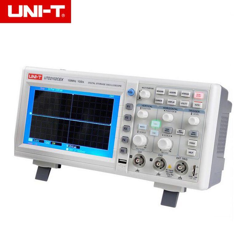 UNI-T UTD2102CEX 1GSa Digital Storage Oscilloscope 7