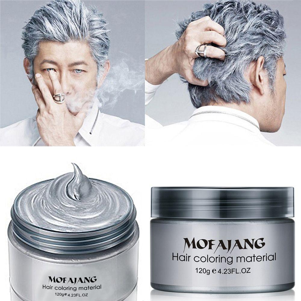 Professional Women Men Beauty Hair Care Fashion Styling Temporary Hair Dye Cream Grandma Grey Hair Dye Haarverf DIY Super Dye