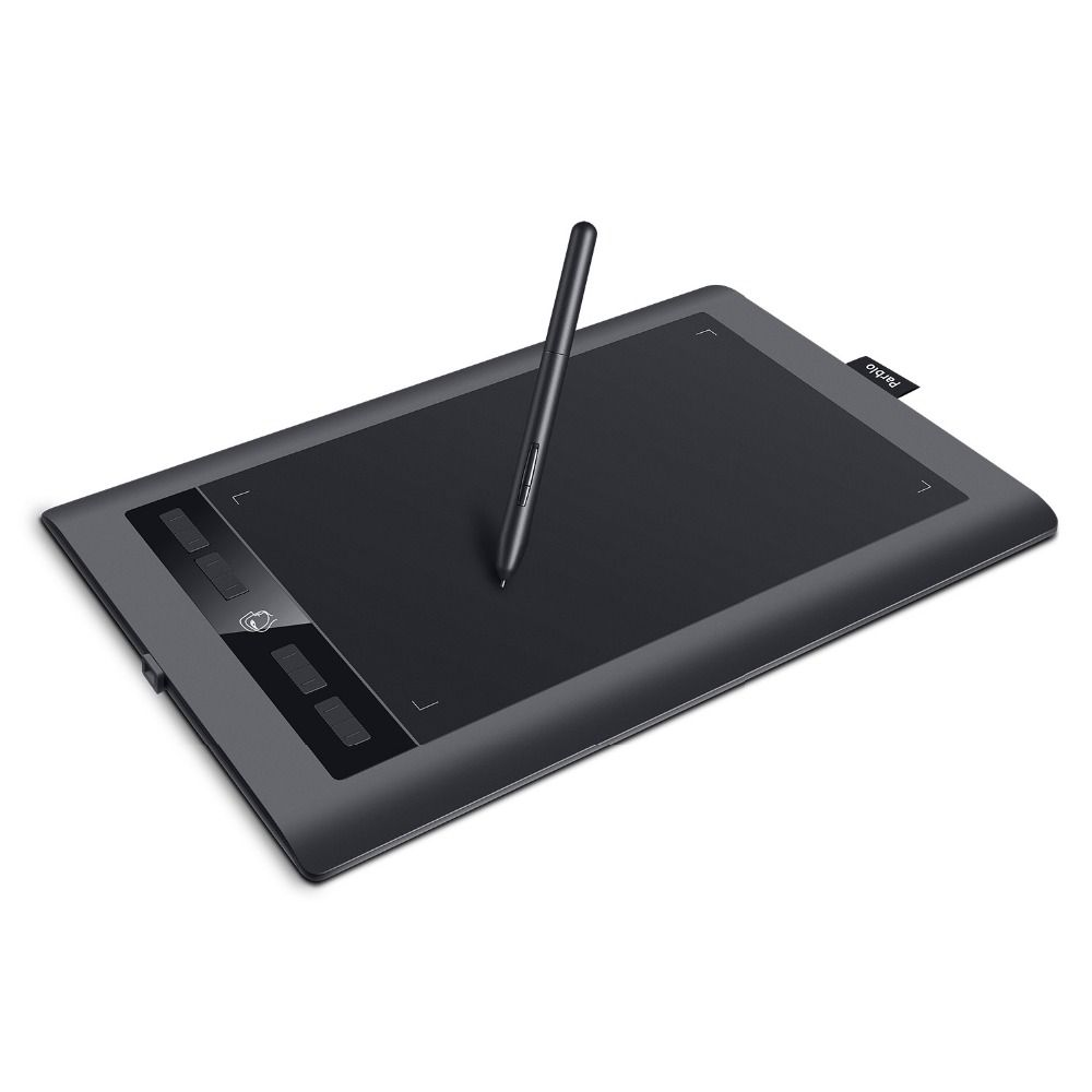 Parblo A610 S 10'' x 6'' Professional Graphic Tablet Digital Art Drawing Tablet 8192 Levels Pen Pressure+Two-finger Glove