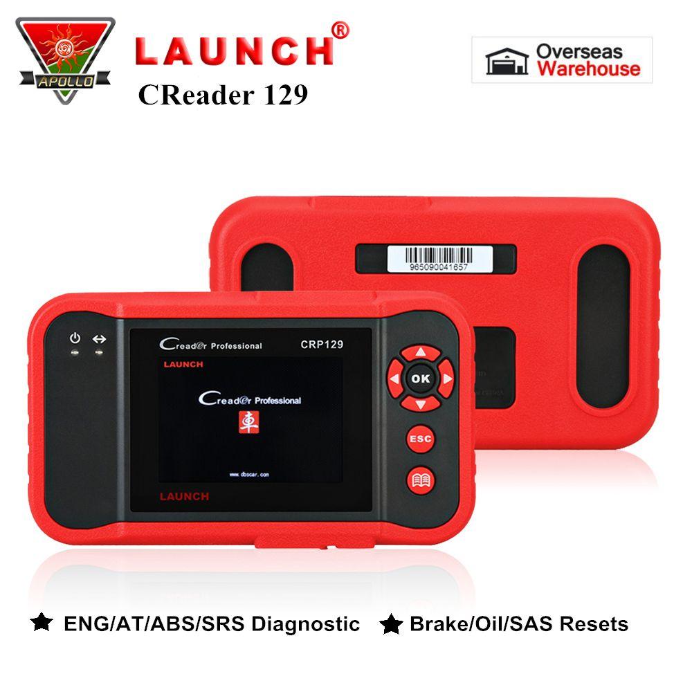 Starten X431 Creader CRP129 OBD2 Auto Scanner Auto OBD Diagnose Werkzeug für ENG/AT/ABS/SRS + bremse/Öl/SAS Reset-Code Reader pk VIII