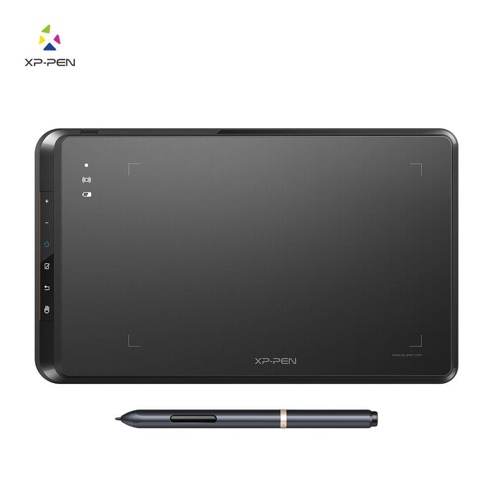 XP-Pen Star05 sans fil 2.4G graphique dessin tablette/Pad tableau de peinture avec touches tactiles et stylet passif sans batterie