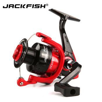 JACKFISH высокая скорость Рыболовная катушка s G-Ratio 5,0: 1 приманка складной шарнир спиннинговая Рыболовная катушка carpa molinete de pesca