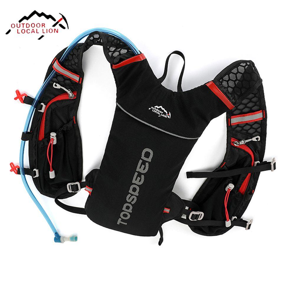 LOCAL LION Running Bag Bicycle Backpack Cycling Run Bag Rucksack Hydration Men Sport Bags Light Waterproof Riding Bike Back Pack