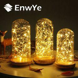 EnwYe 3XAA Battery 10M 100 LED String Lights for Xmas Garland Party Wedding Decoration Christmas Flasher Fairy Lights