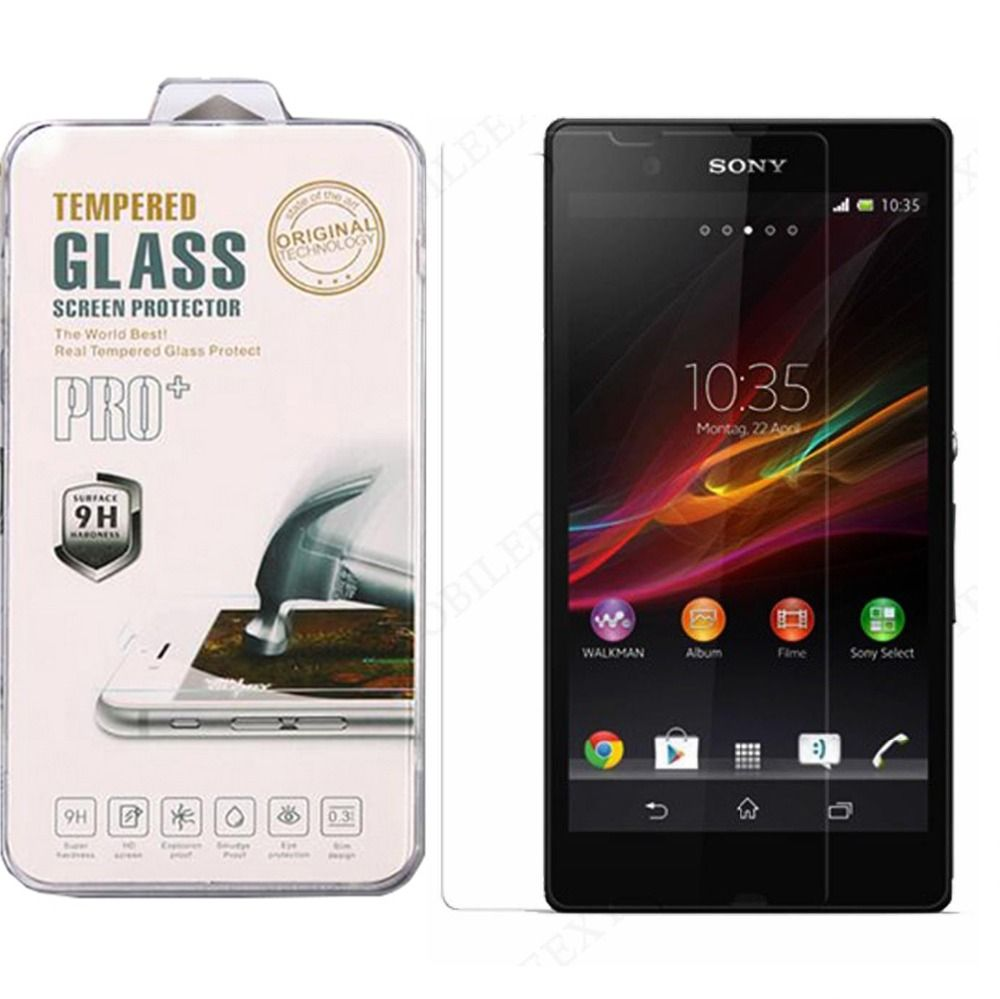 Anti-Explosion Shatterproof Film Genuine Tempered Glass Front Screen Protector FOR SONY XPERIA Z5 COMPACT MINI Free Shipping