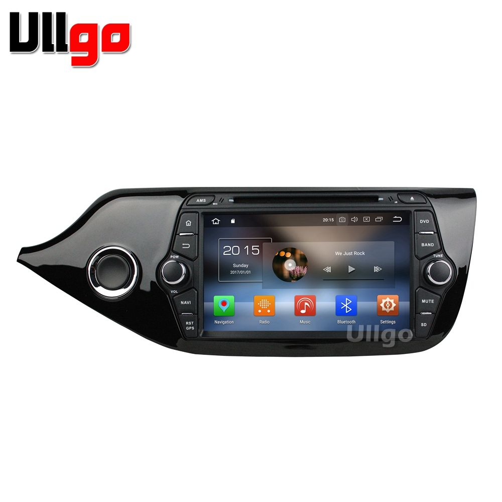 8 inch 4GB RAM Octa Core Android 8.0 Car Head Unit for Kia Ceed 2013+ Autoradio GPS Car Stereo with BT Radio RDS Mirrorlink Wifi