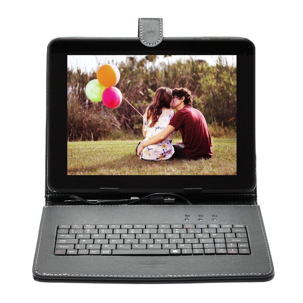 Quad Core Tabletten Pcs book-reader 9,7 zoll SIM Android 6.0 dual-Cam 16 GB/1 GB w/Einzigen Tablette pc oder fügen sie Tastatur abdeckung Russischen