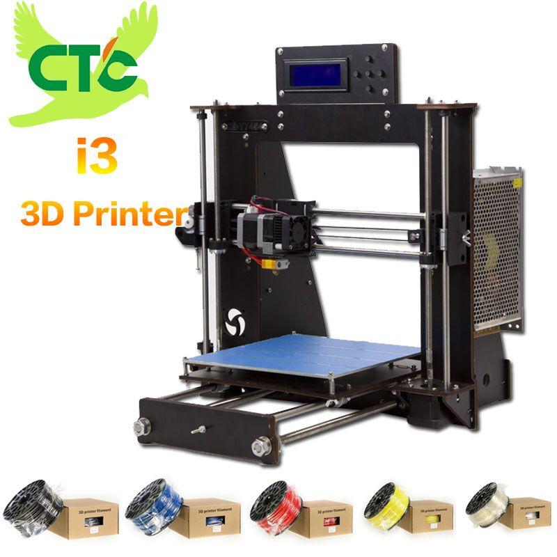 CTC 3D Printer Reprap Prusa MK8 i3 DIY Kit MK2A heizung bett 3D Drucker ABS/PLA