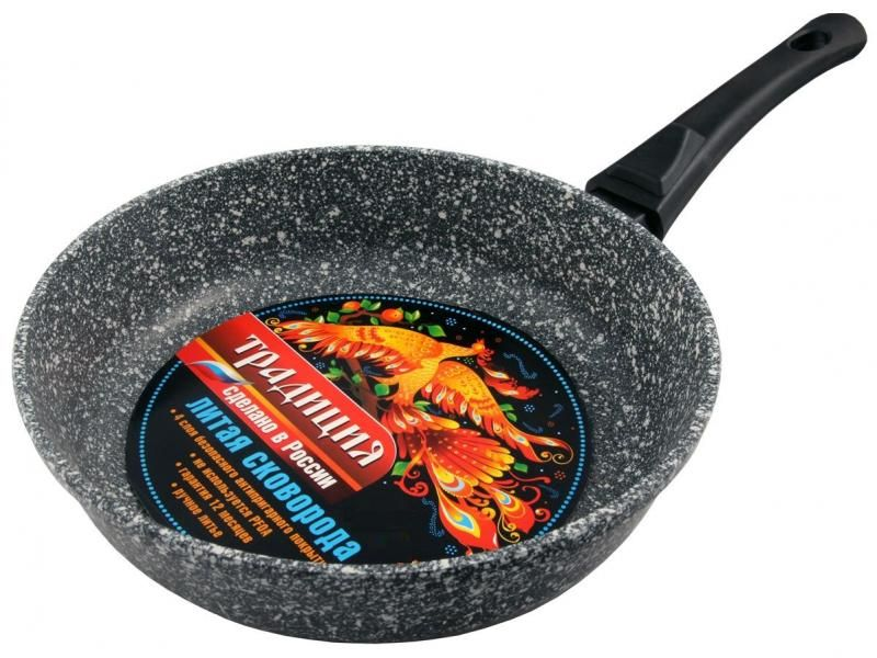 Braten Pan Tradition, Marmor, 28 cm, mit abnehmbarem griff