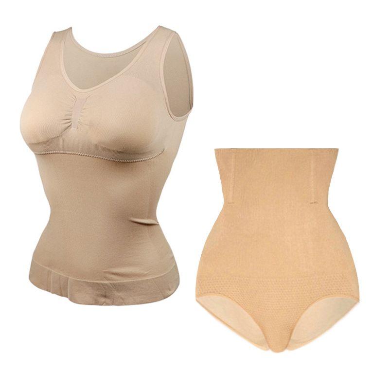 New Women Slim Up Lift Bra Shaper tops Body Shaping Camisole Corset Waist Slimming shapers Super Thin Seamless Tank tops Drop