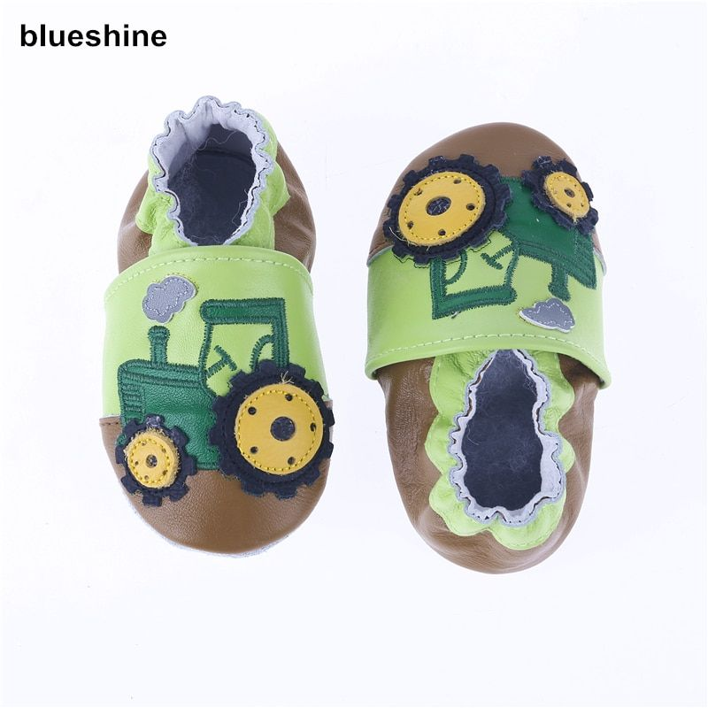 2017 NEW Genuine Cow Leather Baby Moccasins Soft Soled Toddlers Infant Baby Shoes Boys Girls Newborn Shoes First Walkers