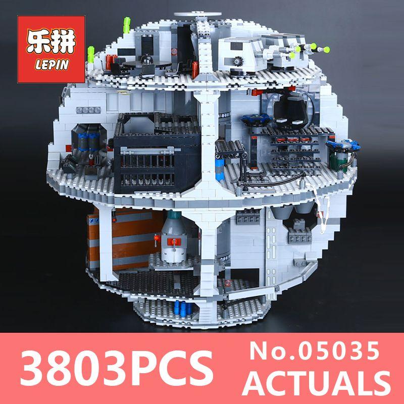 Star Wars Lepin 05035 Death Star Educational Toys for Children model building kits blocks Bricks LegoINGlys 10188 toys for boys
