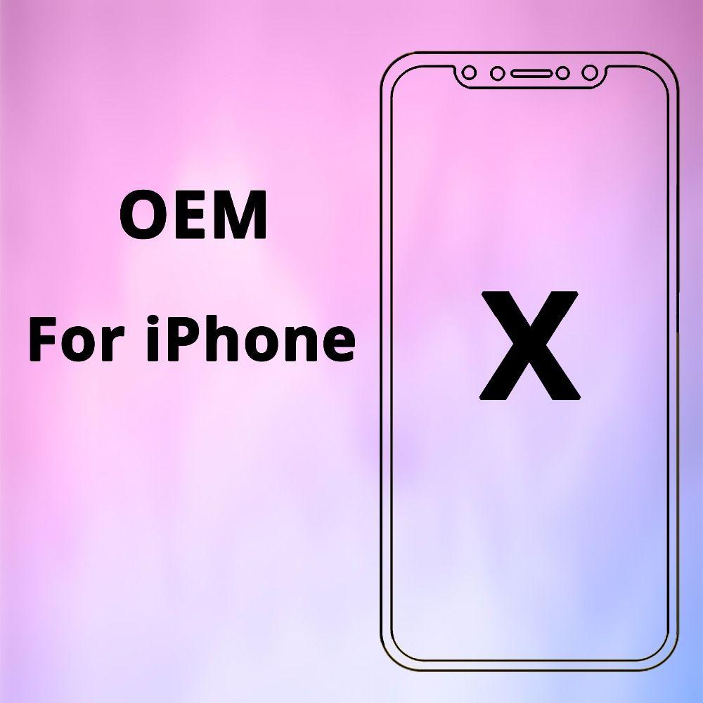 100% OEM AAA Keine Tote Pixel für IPhone X LCD Display Touch Screen 5,8 zoll Digitizer Montage Ersatz Schwarz oder weiß Freies DHL