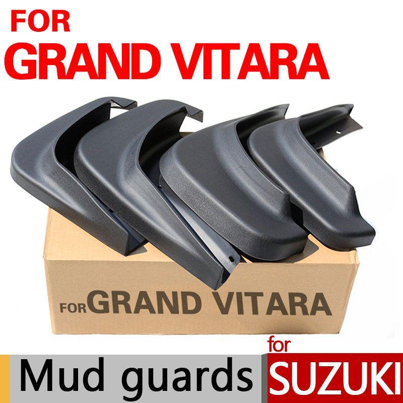 Hohe Qualität Schmutzfänger Für Suzuki Grand Vitara Zubehör Schlamm wachen 2006-2014 2007 2008 2009 2010 2011 2012 2013 Auto Styling