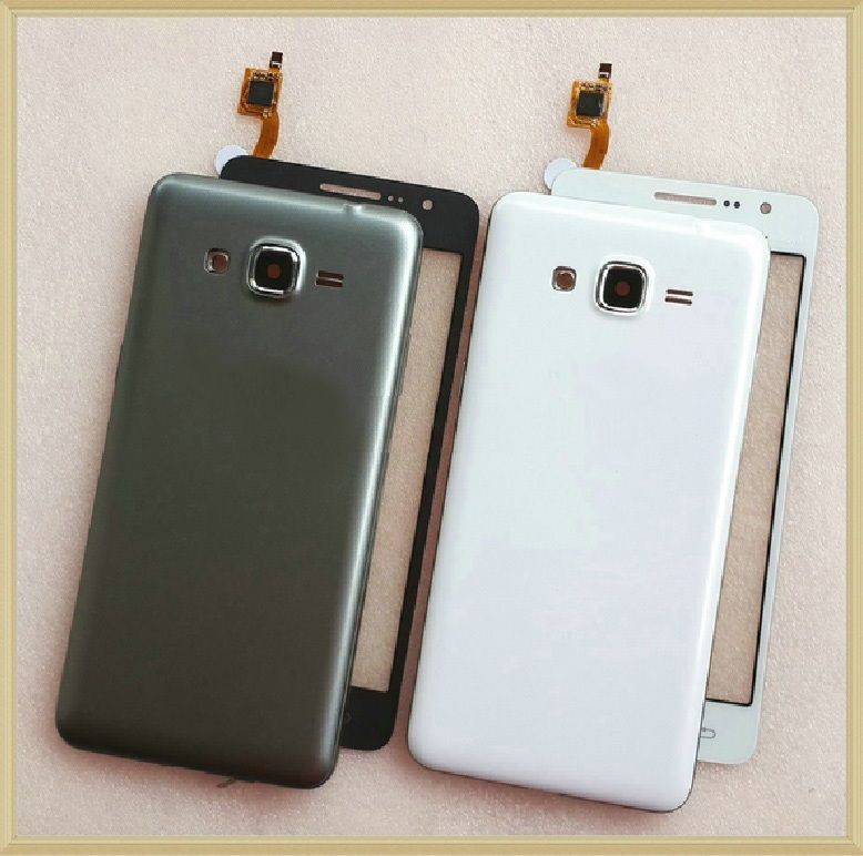 For Samsung Galaxy Grand Prime SM-G530H G530H/DV G530H/DS Front Chassis Frame+Battery Cover+Touch Screen Digitizer Sensor