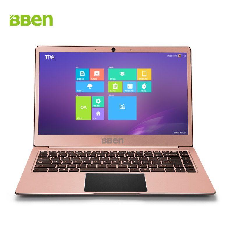 Bben Windows 10 N14W Intel Apollo N3450 CPU Schmale Rahmen 4g DDR3 RAM 64g Emmc + M.2 SSD Option laptop Ultrabook Notebook Computer