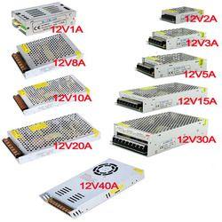 Vusum 12 V источник питания светодиодный трансформатор освещения драйвера для светодиодной ленты 24 W 36 W 60 W 100 W 120 W 180 W 240 W 360 W 480 W