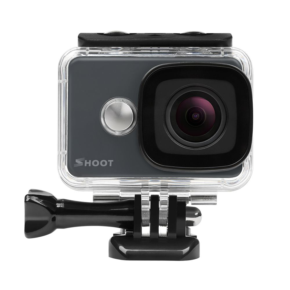 SHOOT T31 4K Action Camera 14MP Ultra HD Lens Underwater Sports Cam with 2.4G Wifi Remoter and Accessories Set