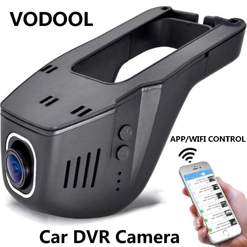 Car DVR Dash Camera 1080P Night Version 12MP 165 Wide Angle WiFi Registrator Dash Cam 165 Degree Wide-angle Lens DVRs Camcorder