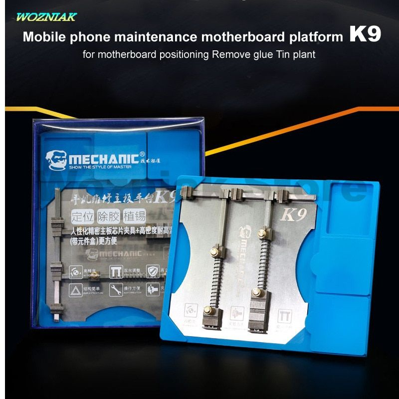 Wozniak Best Precision Universal Maintenance Motherboard Chip IC Fixture Anti Dropping Groove clamp Component for iphone