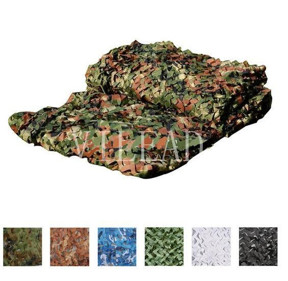 VILEAD 9 Colors 3M*6M Camouflage Net Reusable For Shop Decoration Outdoor Activity Shetler Shade Camo Net Military Training