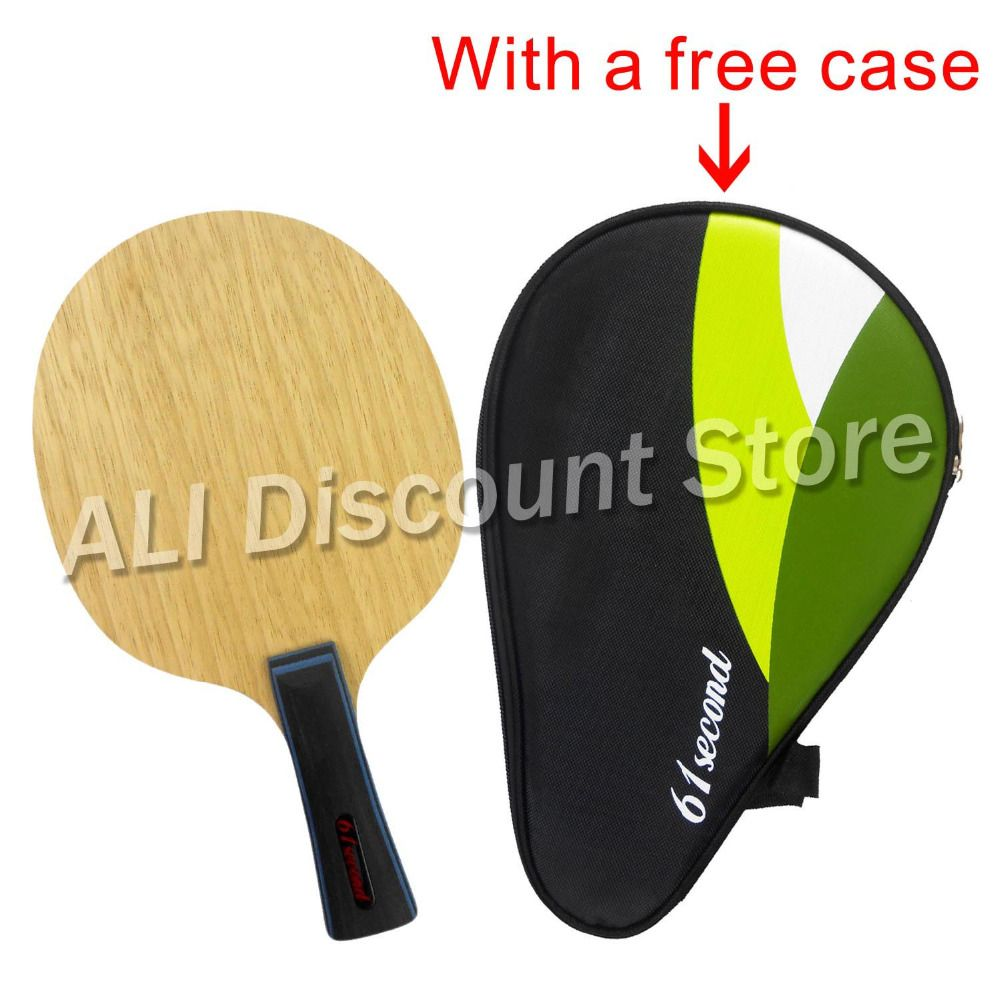 61second 3003 Super Light Table Tennis / PingPong Blade  (FL 55-65g / CS 63-74g) with a free full case