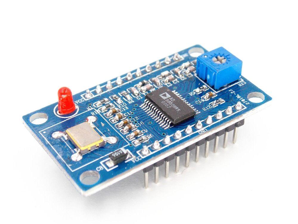 AD9850 DDS генератор сигналов Модуль 0-40 мГц Тесты оборудования