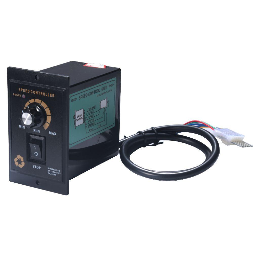 1Pcs AC Motor Speed Controller 400W AC 220V Motor Speed Pinpoint Regulator Controller Forward and Backward