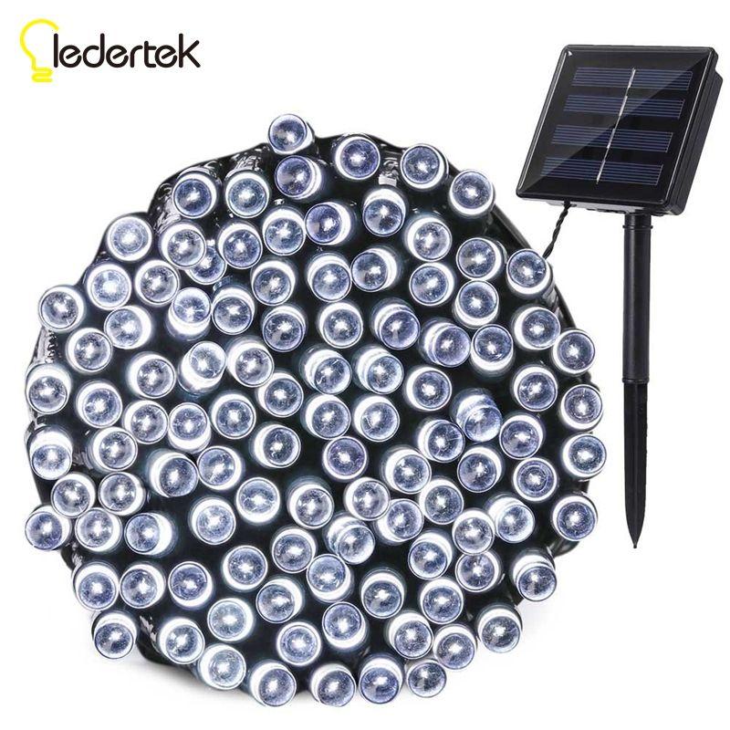 Ledertek Outdoor Lighting Solar Lamp 22M 200 LED 8 Modes Waterproof LED String Fairy Lights For Garden Decoration Solar Light