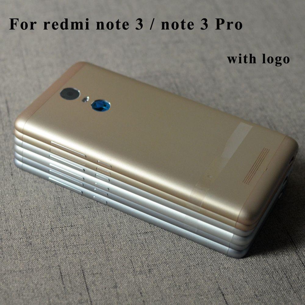 D'origine Complet Réseau Batterie Porte Logement de Couverture Arrière Cas Pour Xiaomi Redmi Note 3 Pro note3 Avec Puissance Volume Boutons 150mm