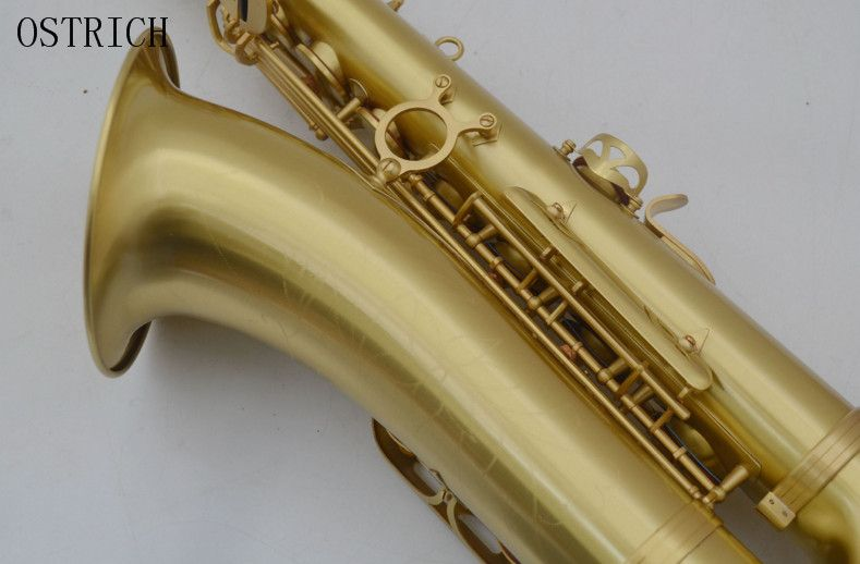 New Professional High-Grade Brass Wire Drawing B Flat Tenor Saxophone musical instrumen wire drawing sax