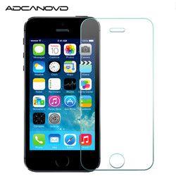 9 H Ultra-mince de protection en verre pour l'iphone 7 8 plus protecteur d'écran trempé verre sur Apple iphone x 6 6 s 5 5S se 4S