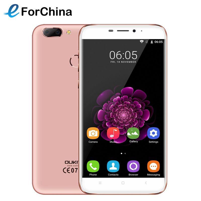 4G Téléphone OUKITEL U20 Plus 16 GB ROM 5.5 pouce Écran Android OS 6.0 Mobile Téléphone MTK6737T Quad Core 1.5 GHz RAM 2 GB 3 Caméras FOTA