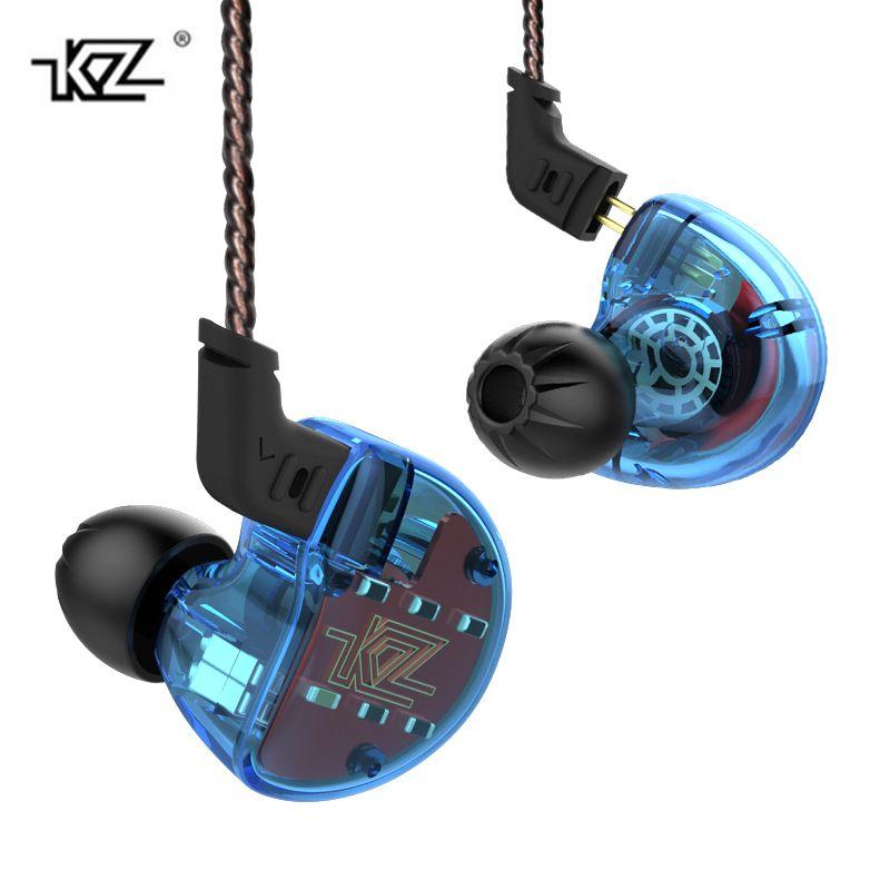 KZ ZS10 earphone 4BA+1DD dynamic hybird inear earphones gaming headset hifi dj music earbuds running sports fone de ouvido
