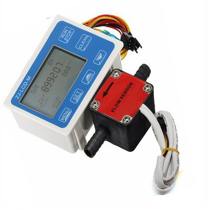 NEW Liquid Fuel Oil Flow Meter With 13mm For Gasoline Gear Flow Sensor Ultra Thin Design Durable Quality