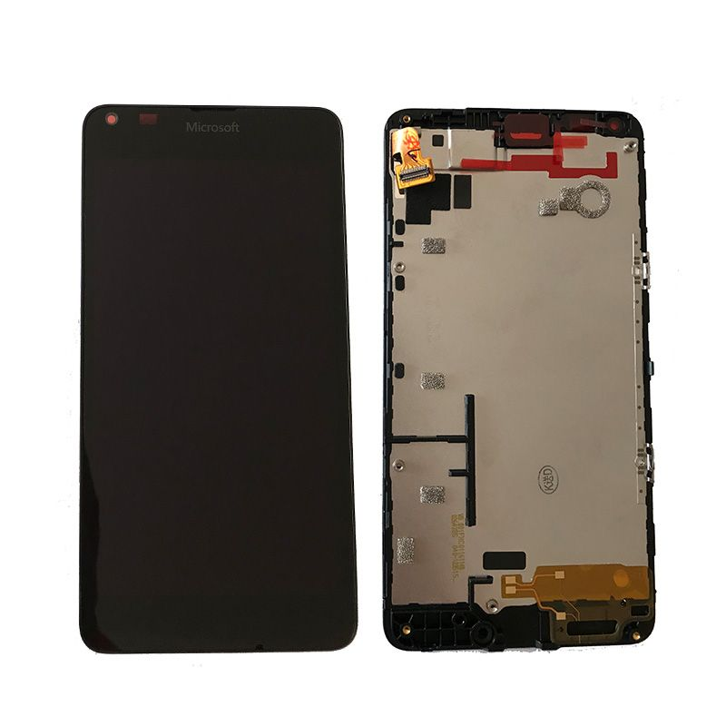 Original For Microsoft Nokia Lumia 640 LCD Display with Touch Screen Digitizer Assembly with frame Free Shipping