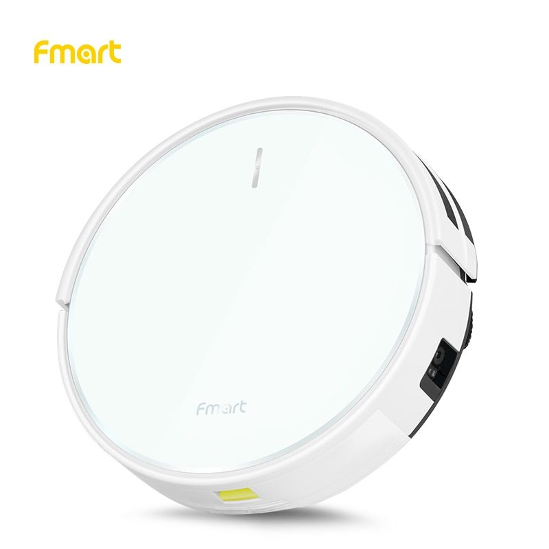 Fmart Robotic Vacuum Cleaner with Wifi App control and Auto Charge for home Plan type 1500pa Suction Warehouse Russian FM-R570