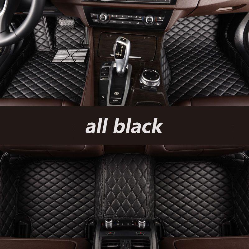 Kalaisike Custom car fußmatten für Audi alle modell A1 A3 A8 A7 A4 A5 S5 S6 S7 S8 R8 TT SQ5 A6 Q3 Q5 Q7 S3 SR4-7 auto styling