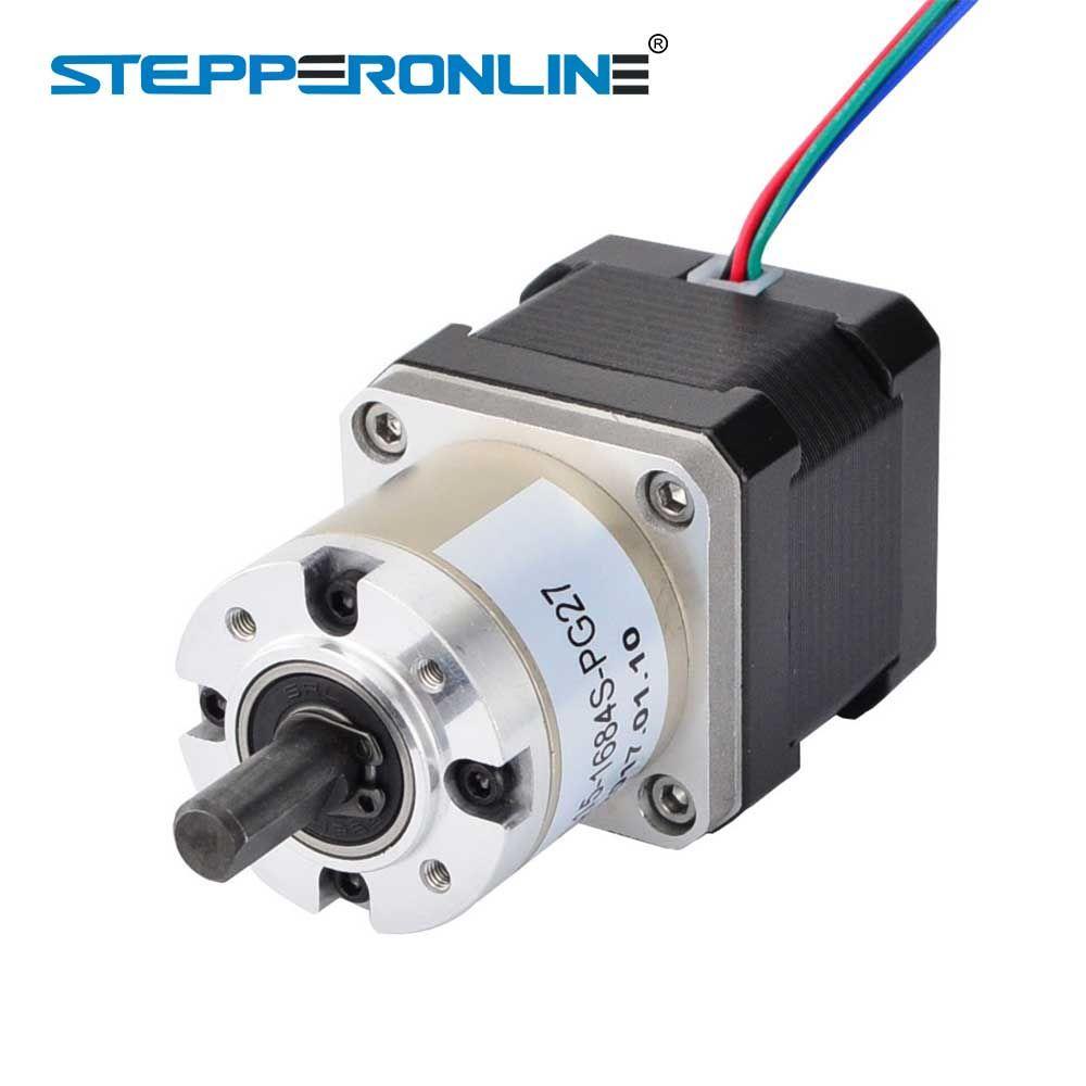 Nema 17 Stepper Motor 27:1 Planetary Gearbox 4-lead 42 Motor Extruder Gear Stepper 1.68A CNC Robot 3D Printer