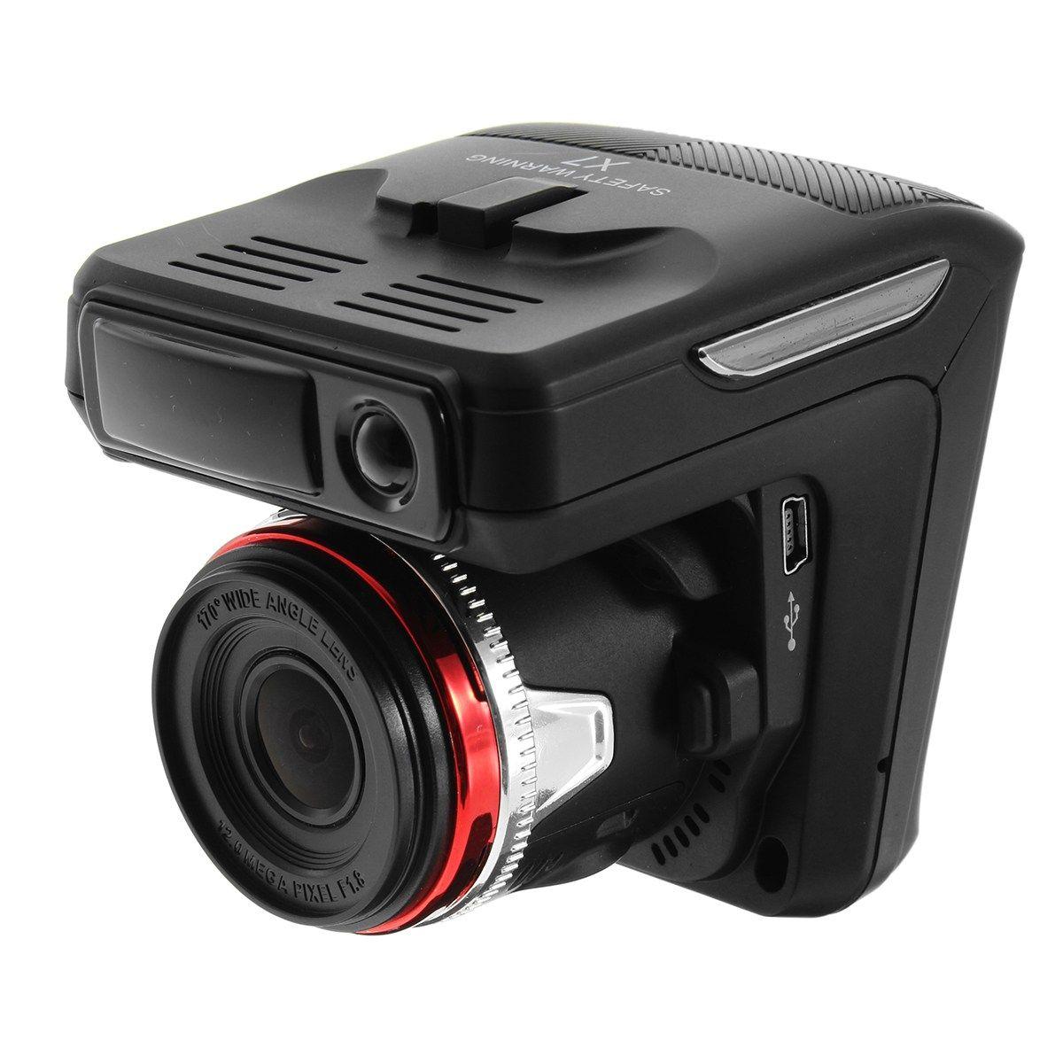 2.4'' Car DVR Camera Anti Radar Detector Laser HD 720P Built-in Alarm System Digital Video Recorder