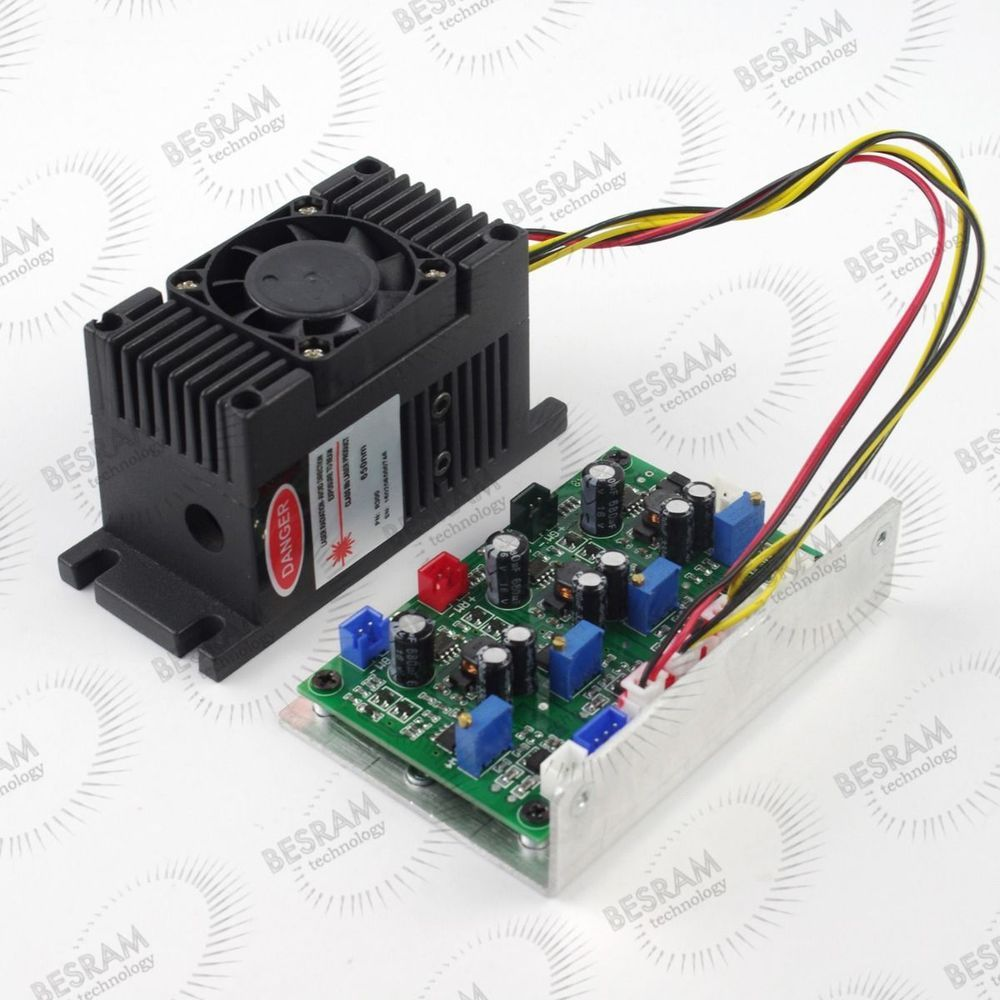 Focusable 300mW 650nm Red Dot Laser Diode Module TTL analog