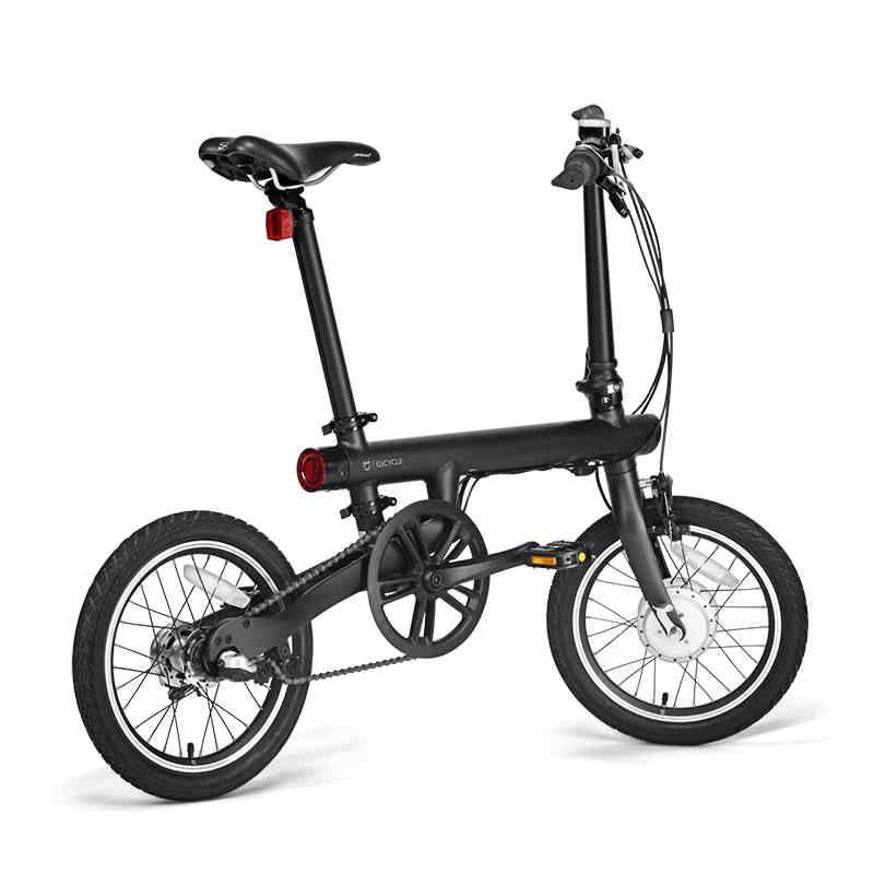 16inch Origina XIAOMI electric bike <font><b>Qicycle</b></font> Mini electric Ebike smart folding bike lithium battery CITY EBIKE no vat EU