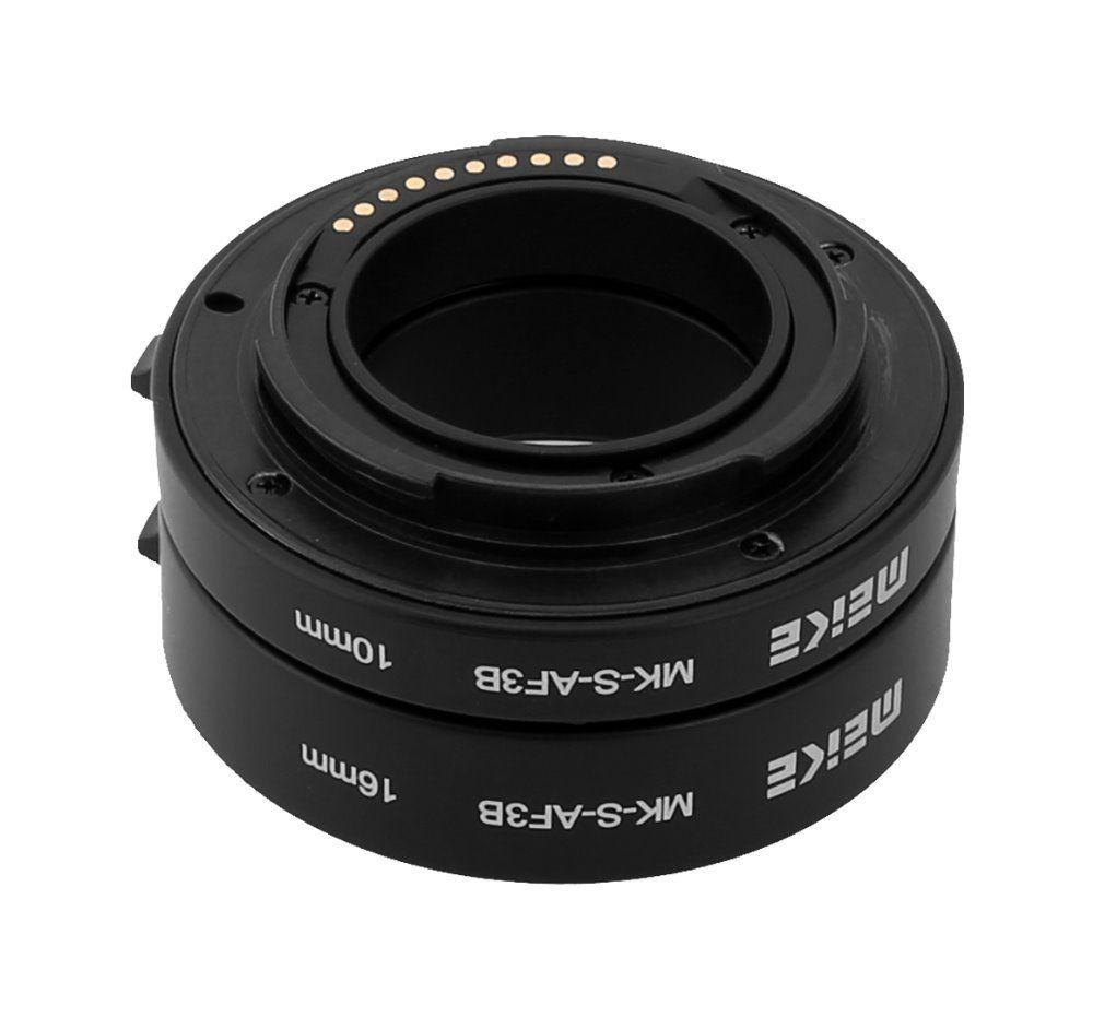 Meike MK-S-AF3B AF Extension Tube Objectif pour Sony NEX Micro DSLR (10mm, 16mm) E-mount NEX-3 NEX-5 NEX-VG10 Caméra