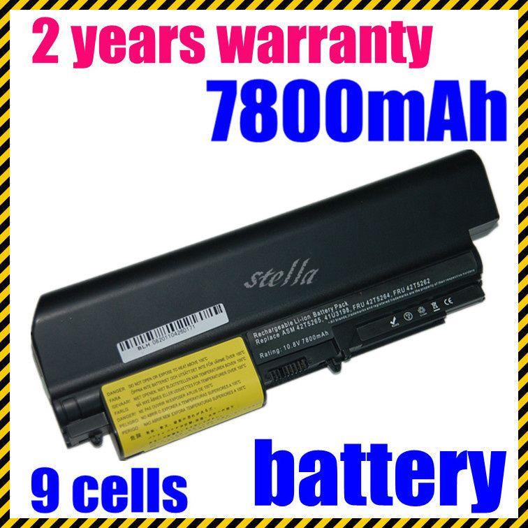 JIGU 9 Cell Laptop Batterie 41U3198 43R2499 ASM 42T4533 Für Lenovo Thinkpad R400 T400 R61i T61 T61p T61u R61 (14,1
