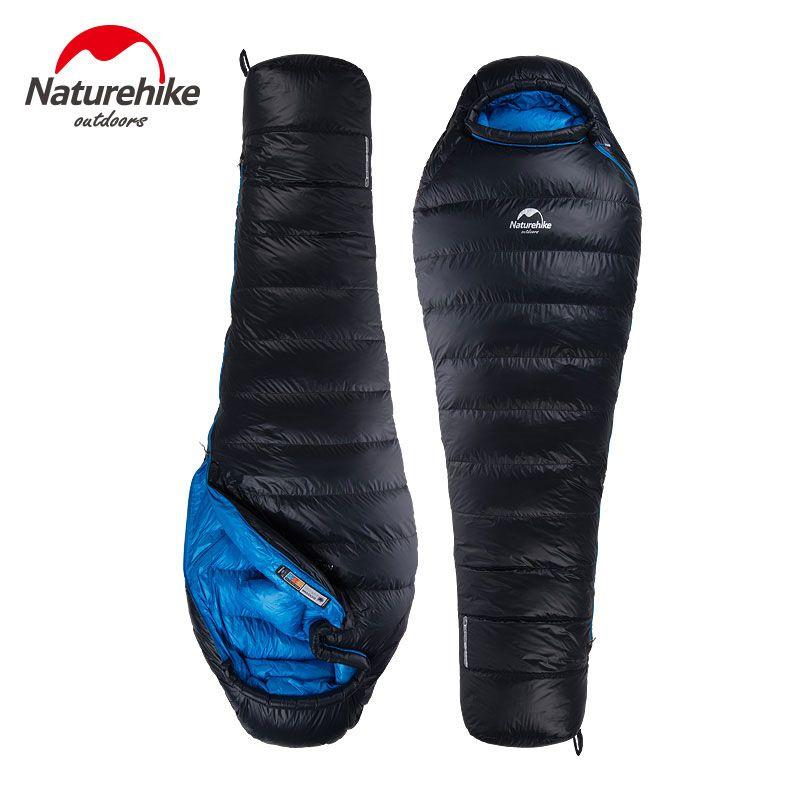 NatureHike-Neue superleichte Down-mumienschlafsack Typ Ente Winter Schlafsack