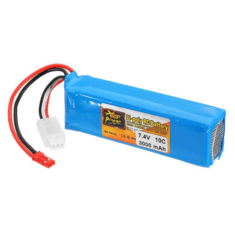 Rechargeable ZOP Power 7.4V 3000mah 10C Lipo BatteryFor Frsky Taranis X9D Plus Transmitter Spare Parts High Quallity
