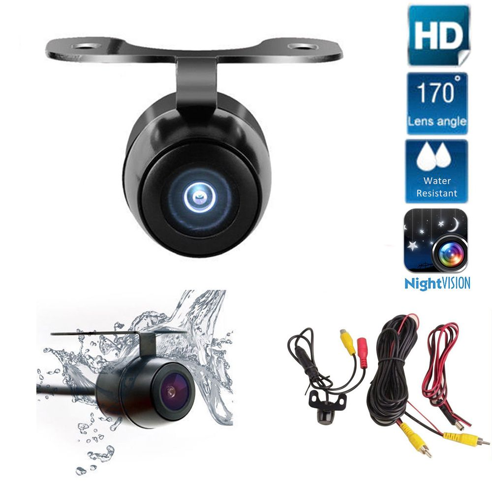 Car Rear View Camera Auto Parking System HD Night Vision 170 Degree Wide Angle Waterproof Butterfly Backup Camera Accessories